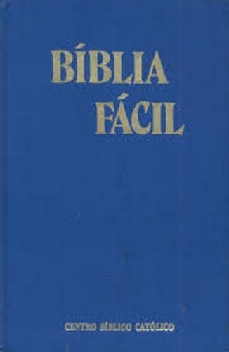 Bíblia Fácil -capa Dura-trad. Frei Paulo Avelino De Assis
