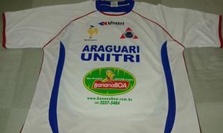 Camisa De Futebol Do Unitri De Uberlândia - Minas Gerais.