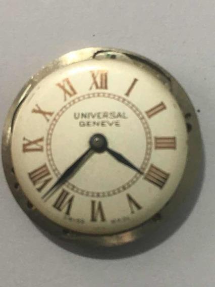 Universal Maquina De Relogio De Pulso Feminina Antiga