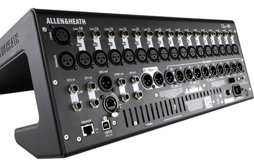Allen & Heath Qu-16 Digital Mixer Recorder Kit With Duss