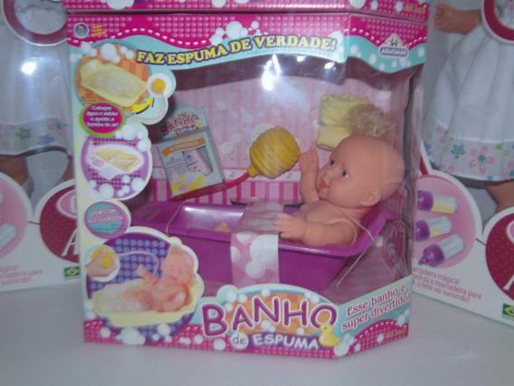 Boneca Mini Banho De Espuma 359 - Adijomar