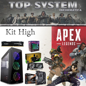 Pc Apex High - I5 9400f/16gb/ssd 240gb/galax Gtx 1660ti 6gb
