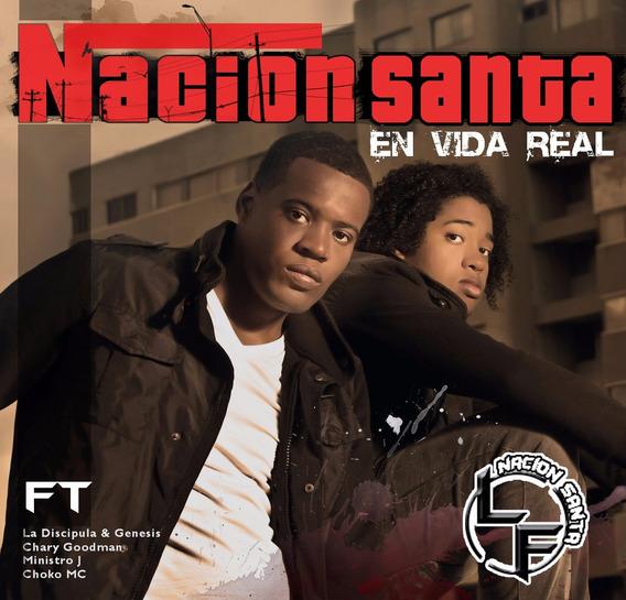Cd Música Cristiana Latino En Vida Real Nación Santa