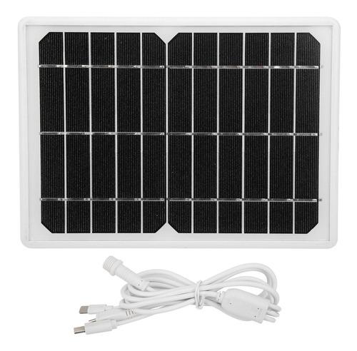 Imagen 1 de 8 de Solar Banco De Energía Portátil Al Aire Libre Generador De E