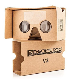 Google Cartón V2 Con Correas De D-alcance Realidad Virtual P