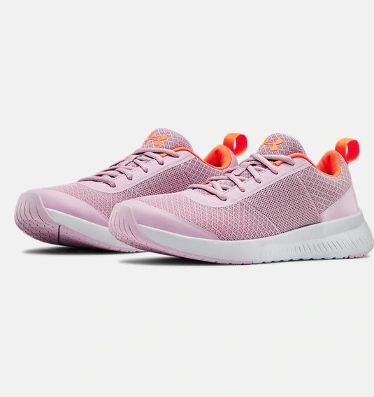 Tenis Under Armour Dama Ua W Aura Trainer Rosa Original