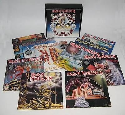 Iron Maiden First Ten Years Lp Vinil Box Amolad Rocks Edward