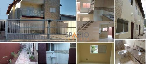 Imagem 1 de 30 de Sobrado Residencial À Venda, Pedreira, Mongaguá. - So0014