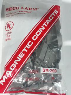 Seco-larm Sm-200 Contacto Magnetico Bolsa Con 10 Piezas