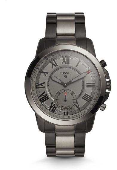 Reloj Smartwatch Híbrido Para Hombre Fossil Q Grant