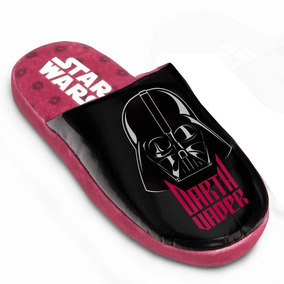 Pantufa Chinelo Darth Vader Rosa - Original Star Wars