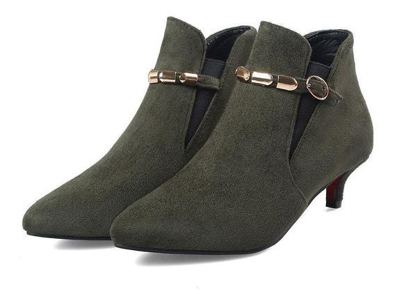 Ankle Boot Fem. Bonjo Marisa 37297 Importado Frete Grátis
