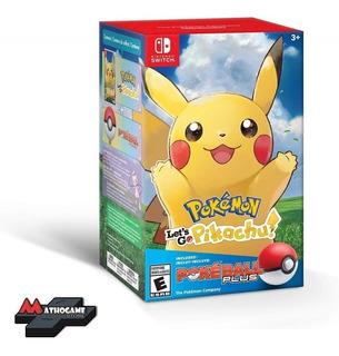Pokemon Let´s Go Pikachu + Poke Ball Plus Switch. Mathogames