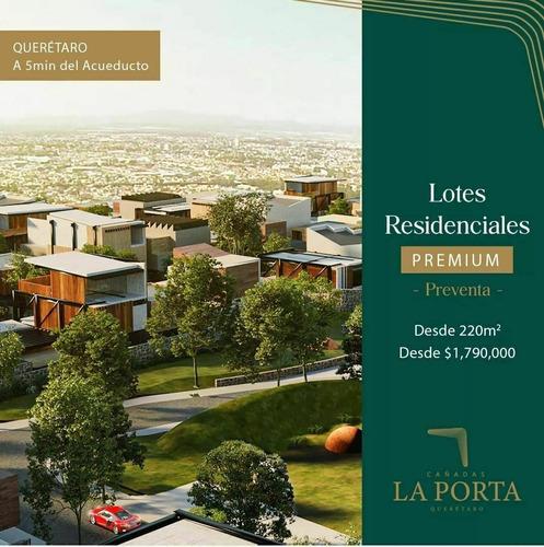 Imagen 1 de 4 de Venta De Terrenos Premium Cañadas La Porta