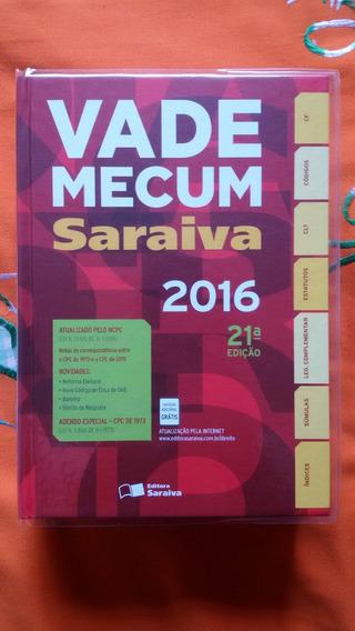 Vade Mecum Saraiva - 21ª Ed. (2016)