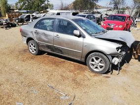 Toyota Solo Desarme Sedan