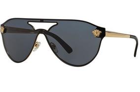 31817e3d53 Lentes De Sol Versace Ve2161 1002/87 Negro/dorado Original