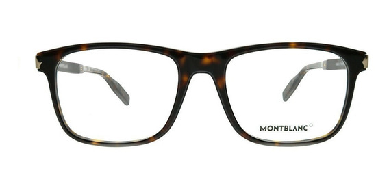 Lentes Mont Blanc Optical Frame Mb0035o-003 55