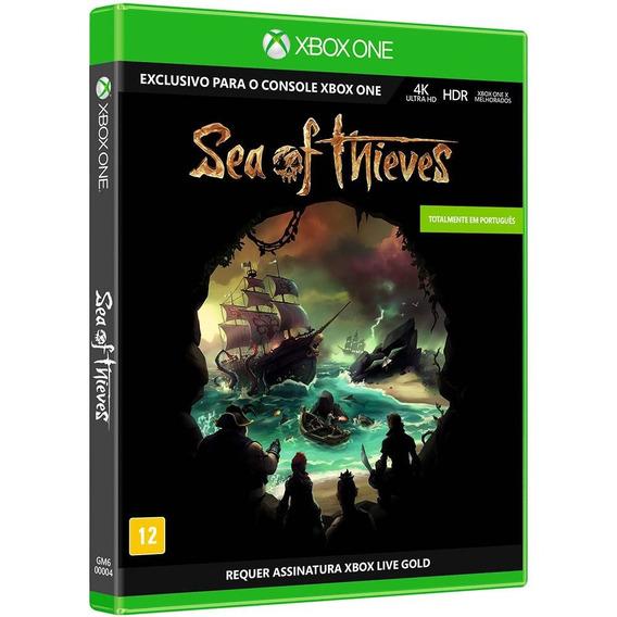 Sea Of Thieves Xbox One Mídia Física Novo Lacrado Português