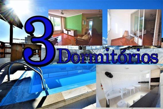 Guarujá, Astúrias 3 Dormitórios (1 Suíte) Elevador, 1vaga - Ap0959