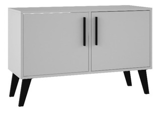Credenza Decorativa Brv Moveis Modelo Bpp 64-205 Color Blanc