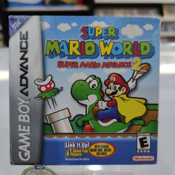 Super Mario World Advance 2 Game Boy Advance Na Caixa Comple