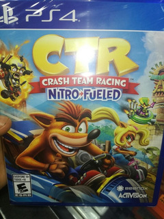 Crash Ctr En Español Para Ps4.