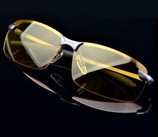Óculos Para Dirigir, Lentes Amarelas Ideal Para Direção, Visão Noturna Polarizado Óculos Piloto