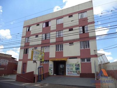Apartamento Para Alugar, 87 M² Por R$ 600/mês - Centro - Ponta Grossa/pr - Ap1098