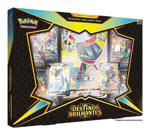 Card Game Pokémon Tcg Box Destinos Brilhantes Dragapult Vmax