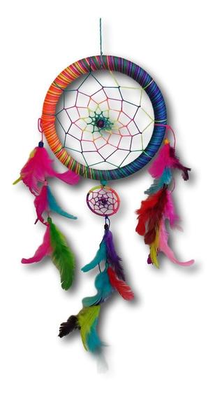 Filtro Dos Sonhos Com Penas Colorido Arco-iris Ref: 0192