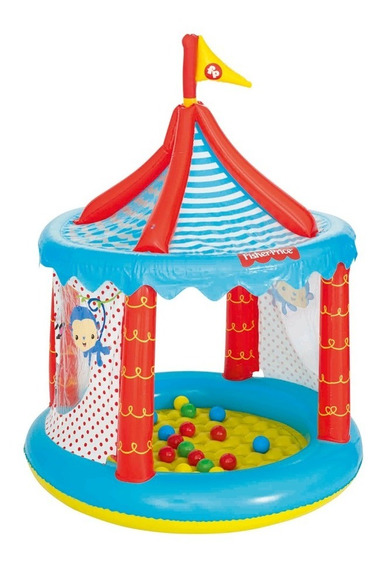 Circo Fisher Price Con 25 Pelotas - Bestway