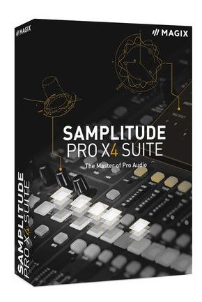 Magix - Samplitude Pro X4 Suíte 15 - 64 Bit