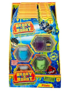 Ready 2 Robot Pack X4 Slime Original!!