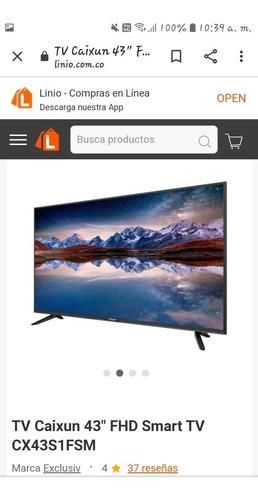 Smart Tv Caixun 43