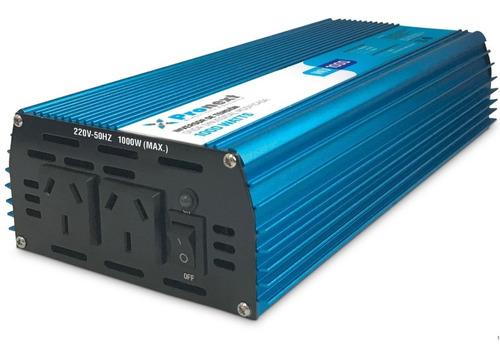 Inversor Conversor Power Inverter 12 Vdc-220 Ac 1000 Watts
