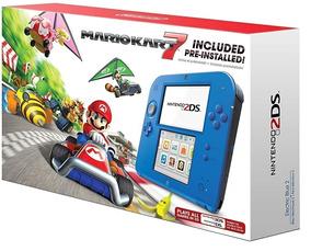 Nintendo 2 Ds Azul (novo Lacrado)