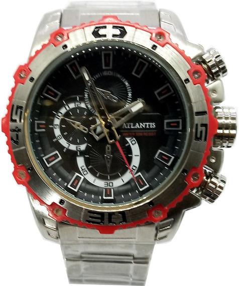 Relógio Atlantis Masculino Esportivo A3270