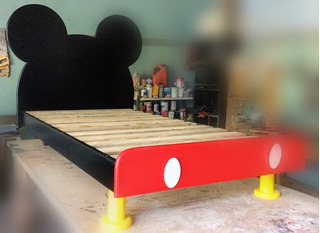 Cama Individual Mikey Mouse