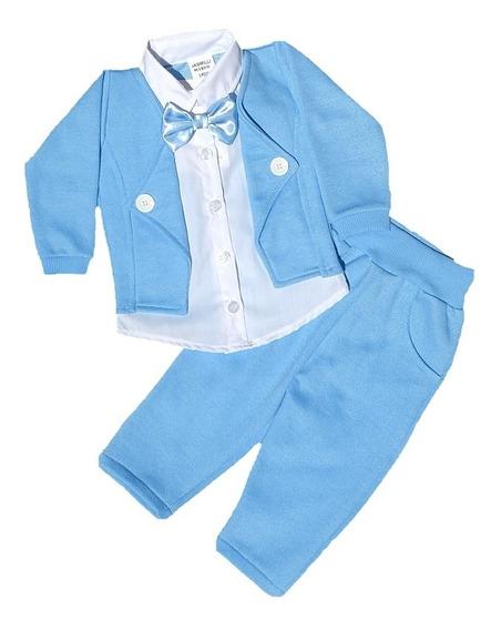 Roupa Infantil Terninho Bebê Menino Social Festas