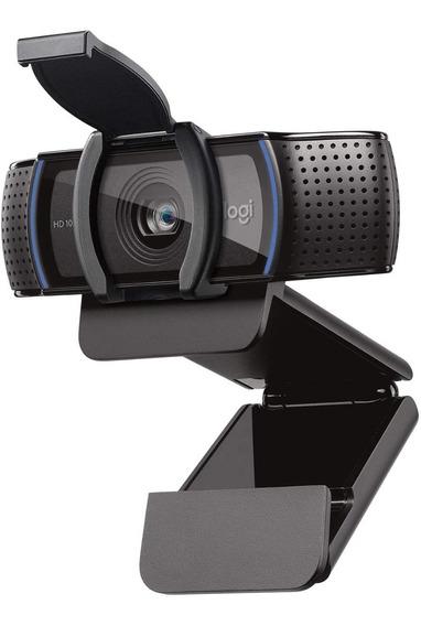 Webcam Logitech C920s Pro Hd Full Hd 1080p C/ Microfone C/nf