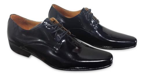 Imagen 1 de 2 de Zapatos Hombre Farenheite Art 150 Charol