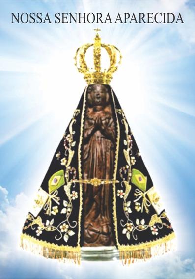 Santinhos Para Oração Da Nossa Senhora Aparecida 20.000un