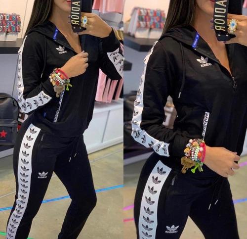 Fe ciega Disipar Proceso de fabricación de carreteras  Conjunto Sudadera Mujer adidas Nike Y Fila