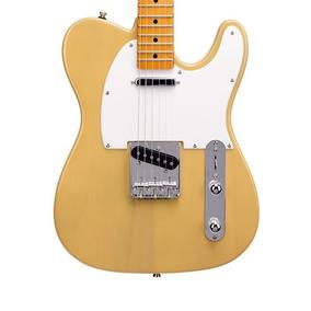 Guitarra Electrica Telecaster Sx Ftl50 Bsb Madera + Funda
