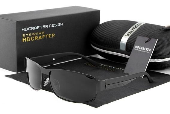 Óculos De Sol Masculino Lente Polarizada Original Hdcrafter