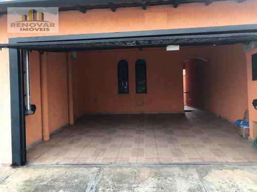 Sobrado Com 3 Dormitórios À Venda, 149 M² Por R$ 375.000,00 - Jardim São Pedro - Mogi Das Cruzes/sp - So0423