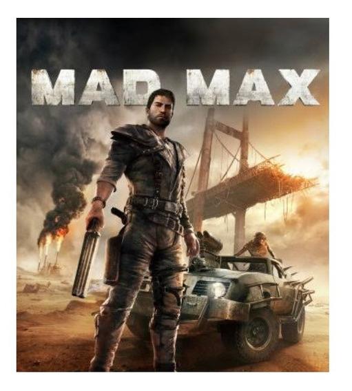 Mad Max Pc - Dvd (midia Fisica)