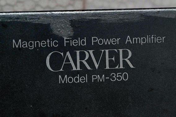 Carver Potência Pm-350 - Funcionamento Perfeito