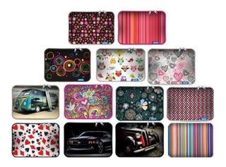 Funda Notebook Neoprene 15.6 Pulgadas Estampado C/ Diseño